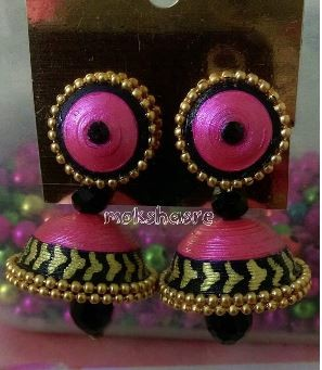 Hand Crafted Jhumka (Stud)