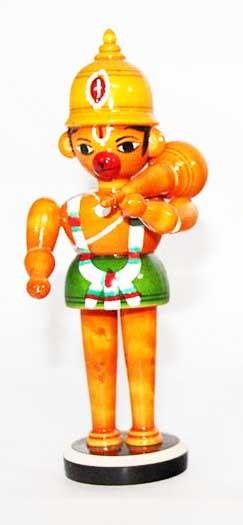 Etikoppaka Wooden Hanuman