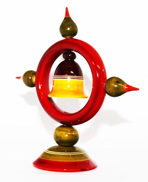 Etikoppaka Wooden Super Toy Bell