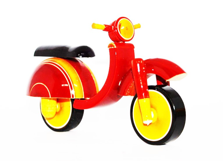Etikoppaka Wooden Toy Scooter