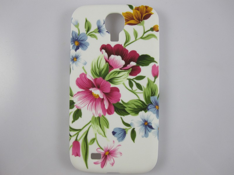 TPU Soft Mobile case cover for Samsung Galaxy S4 I9500, Printed